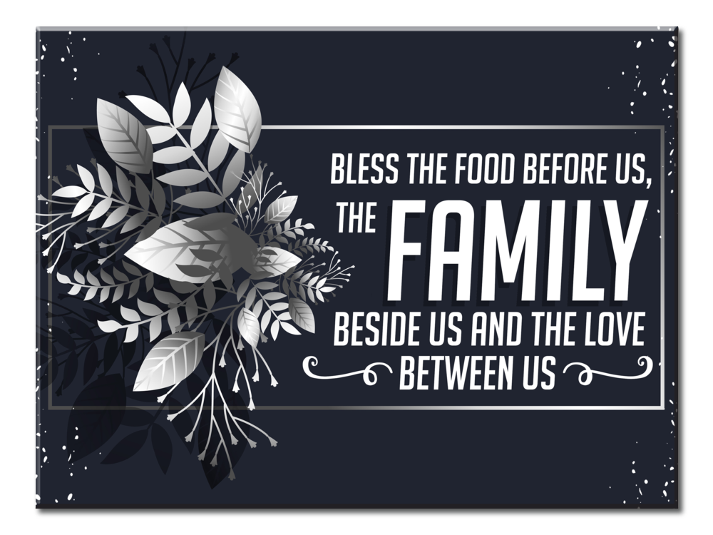 Bless The Food Before Us 