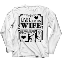 To My Gorgeous Wife - Tees