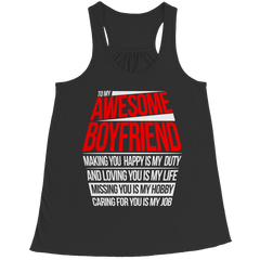 To My Awesome Boyfriend - Tees