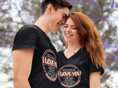 I Love You So Much - Couples T-Shirt