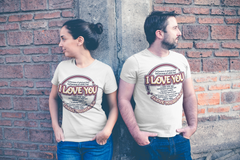 I Love You So Much - Couple T-Shirt