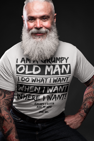 Grumpy Old Man His T-Shirt