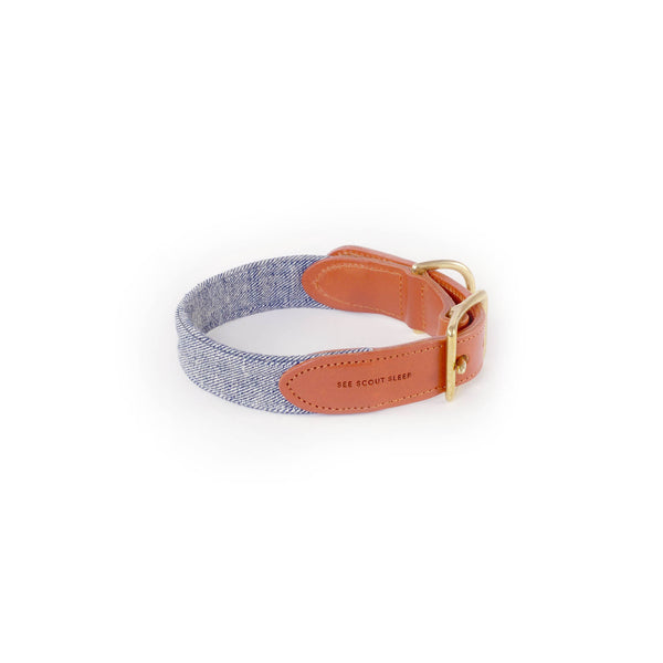See Scout Sleep - Billie Jean Denim Collar