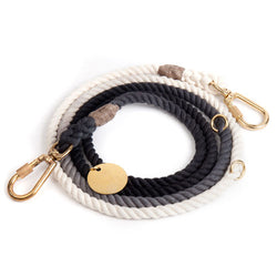 Found My Animal - Black Ombre Dog Lead