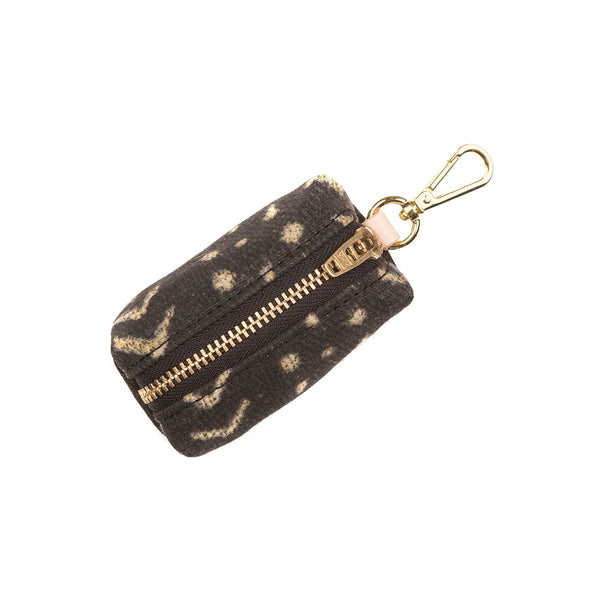 Boho Mud Cloth Waste Bag Holder