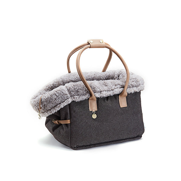 Dog Bag City Carrier Heather Brown - Cloud 7