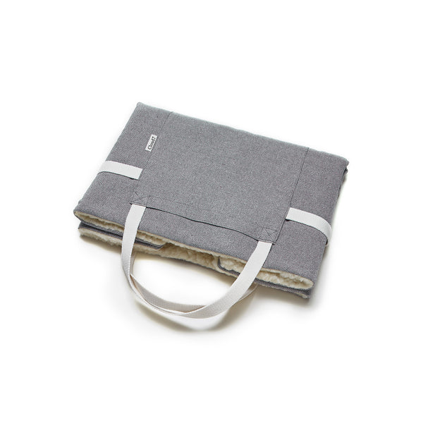 Cloud 7 - Travel Bed -Tweed Grey