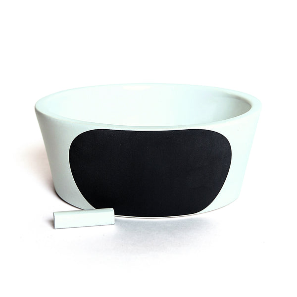 Cloud 7 Chalk Dog Bowl