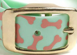 Seafoam Dog Collar-Monstera
