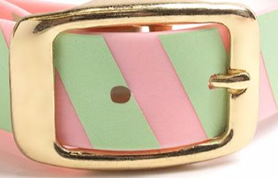 Think Pink Dog Collar-Monstera