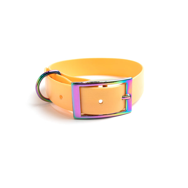 Peach Melba Dog Collar (personalise me)