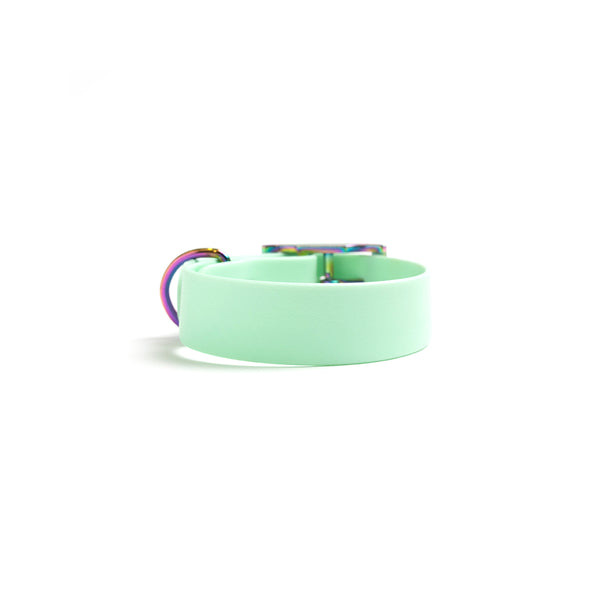 Seafoam Dog Collar (personalise me)