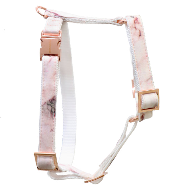 Marble Blush Dog Harness