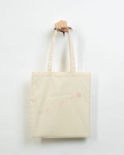 Howl & Growl Cream Tote Bag