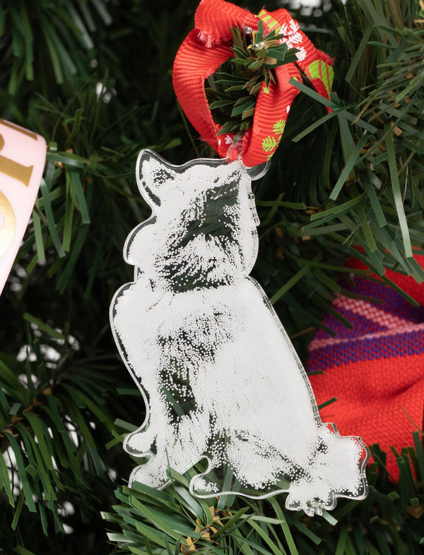 Pomeranian Christmas Tree Decoration