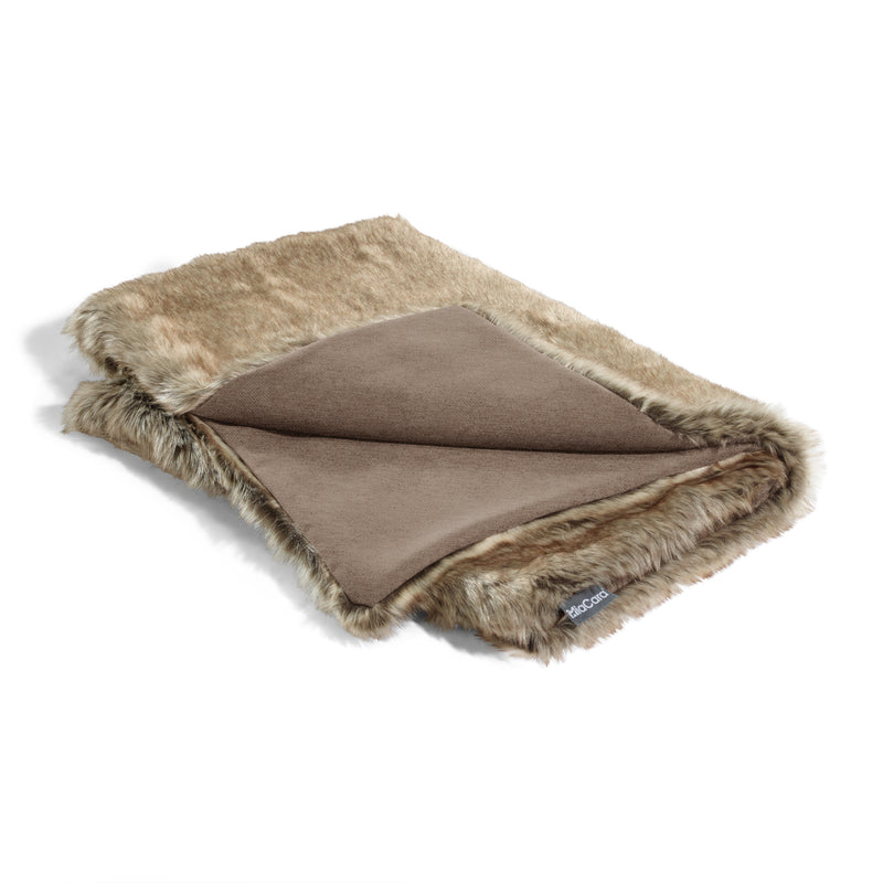 MiaCara-Dog Blanket-Felpa-Mottled-Brown