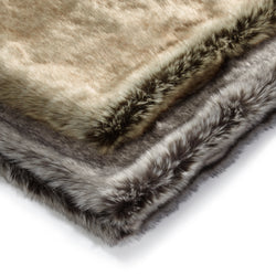 MiaCara-Dog Blanket-Mottled Grey-Brown