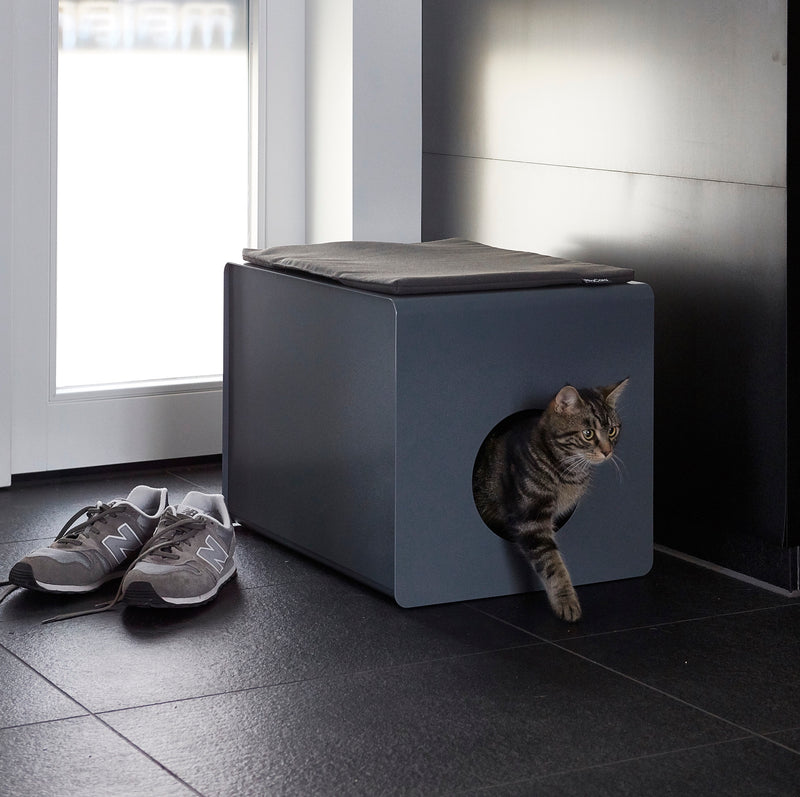 Mia Cara-Sito Cat Litter Box-Lifestyle