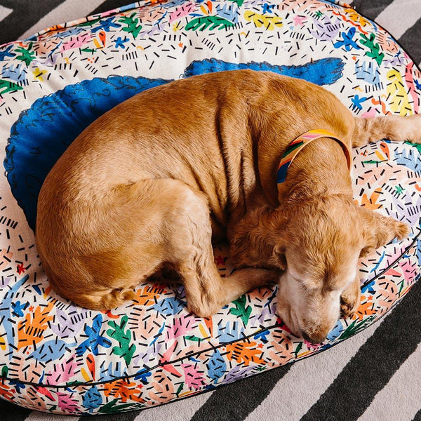 Frond of You Dog Bed-Lifestyle Spaniel