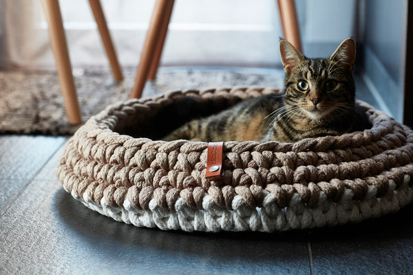 MiaCara-Nido Cat Basket-Lifestyle