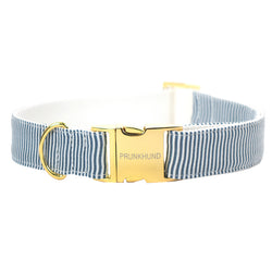 Prunkhund Riviera Blue Dog Collar