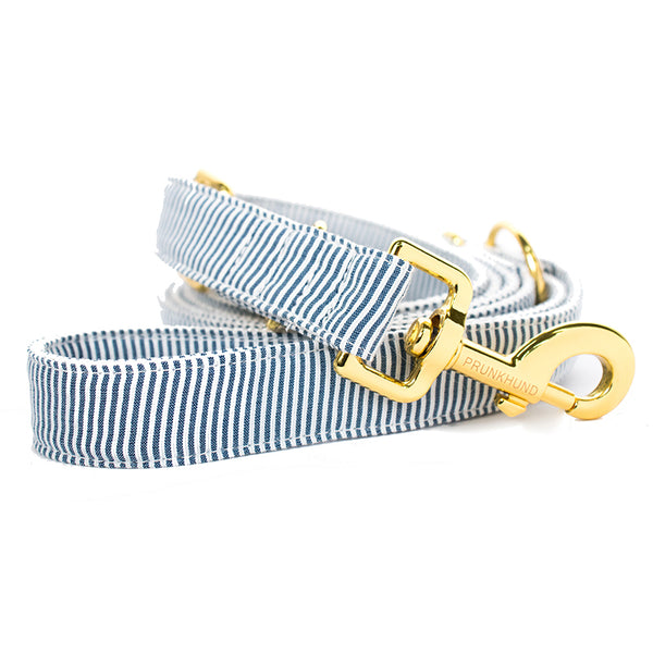 Prunkhund-Riviera Blue Dog Lead
