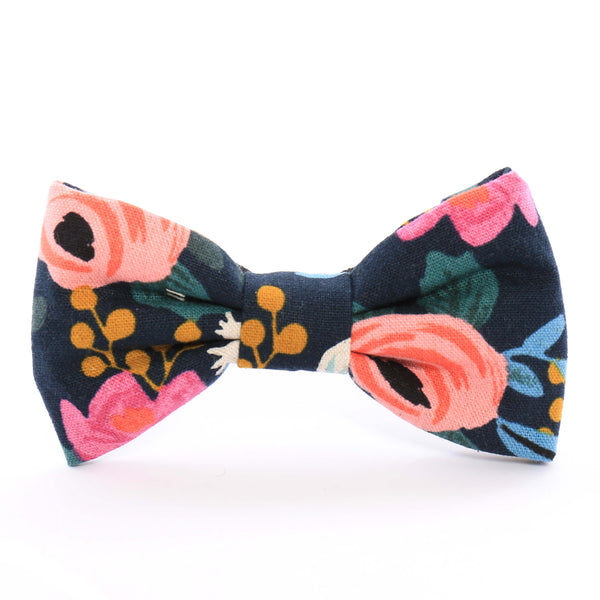 Foggy Dog-Rosa Flora Dog Bow Tie