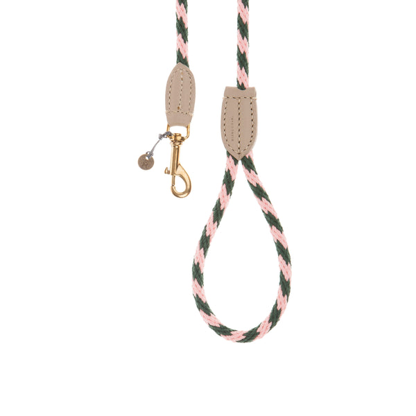 Mungo & Maud-Rock Candy Dog Lead Flamingo