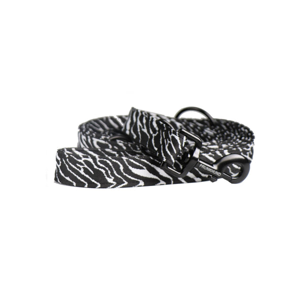 Prunkhund-Zebra Dog Lead