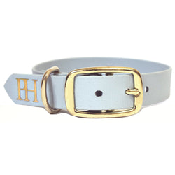 Prunkhund_Sea salt waterproof blue dog collar