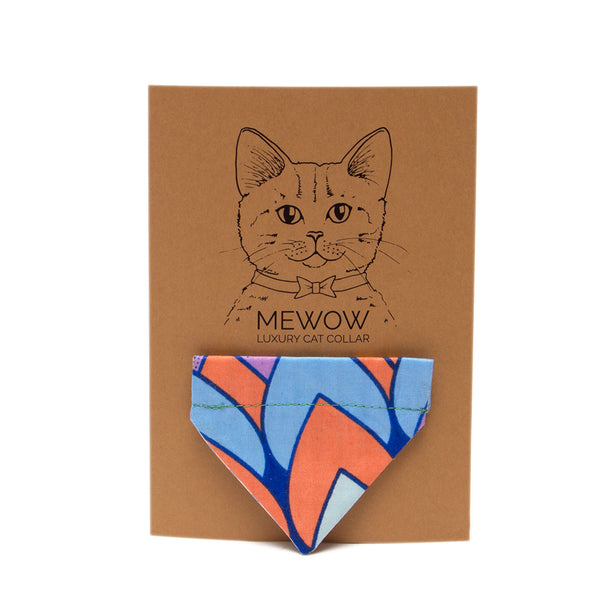 Hiro & Wolf-Feathers Cat Bandana