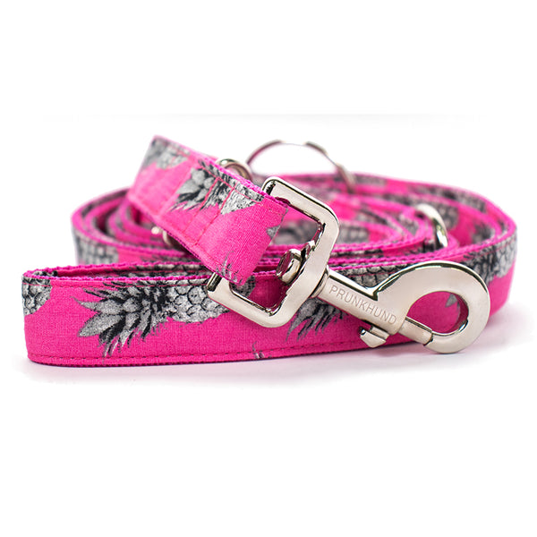 Prunkhund-Pineapple Pink Dog Lead