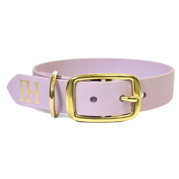 Prunkhund-Purple waterproof dog collar