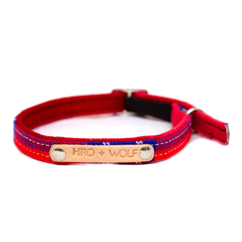 Hiro & Wolf-Shuka Red Cat Collar-Detail