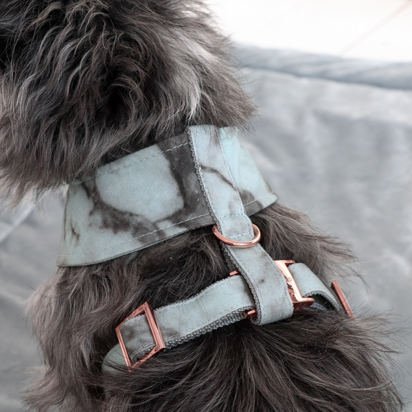 Soft Dog Harness-Marble Mint