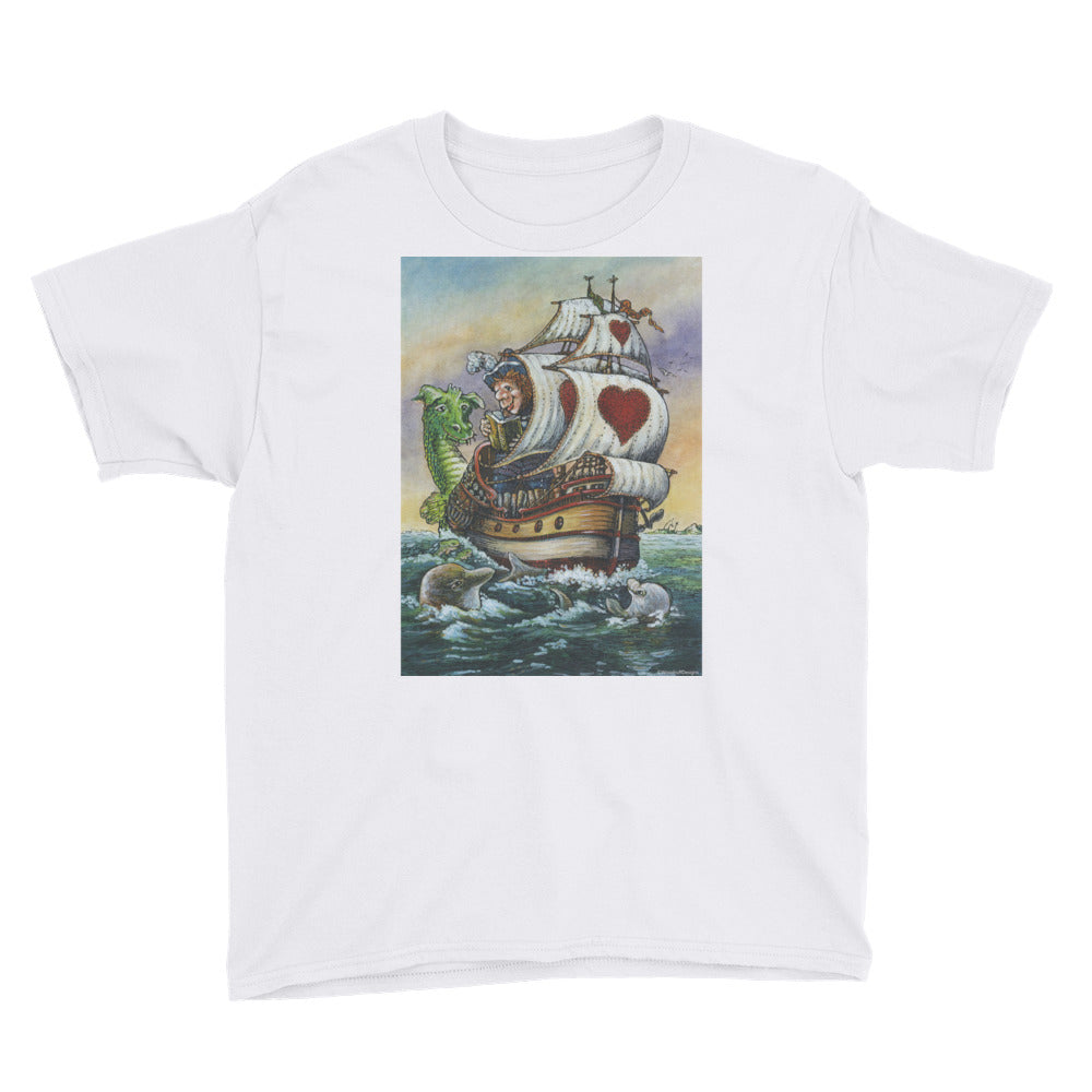 """Sea Story"" Youth T-Shirt - Shop Woodruff Designs"
