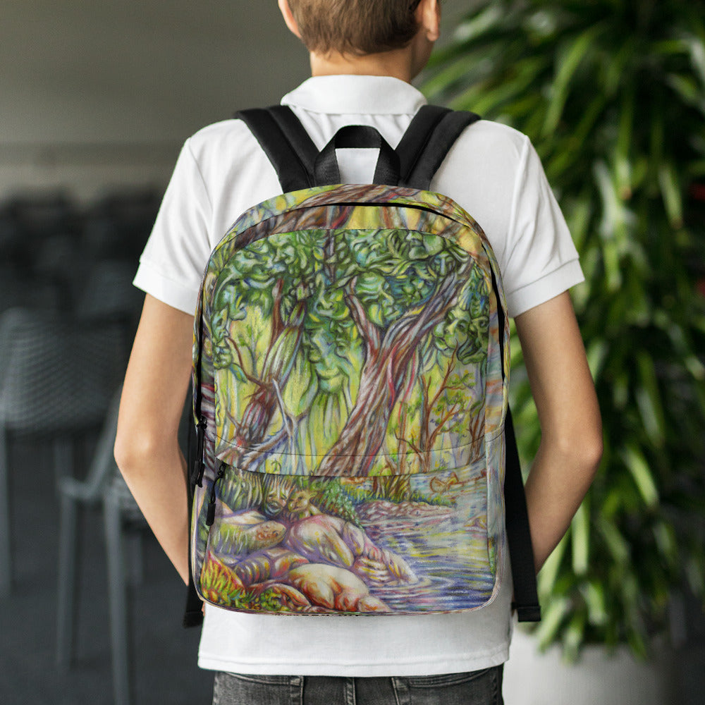 """A Walk in the Woods"" Backpack - Shop Woodruff Designs"