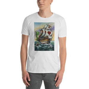 """Sea Story"" Unisex T-Shirt - Shop Woodruff Designs"