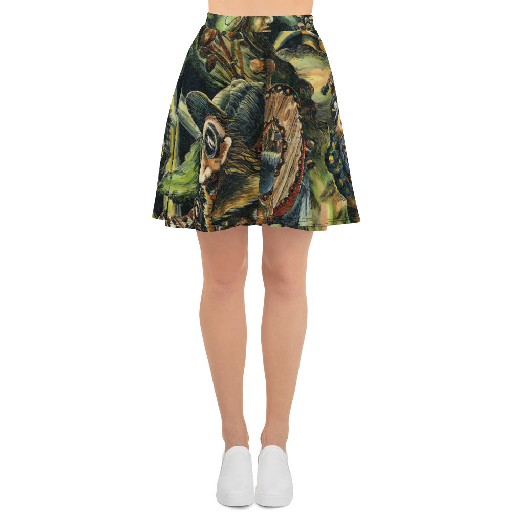 """Past Pentagon Purchasers at Play"" Skirt - Shop Woodruff Designs"