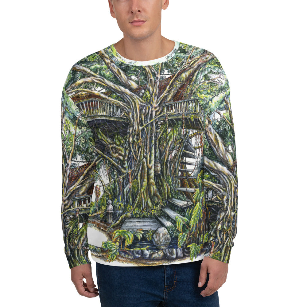 """Treehouse"" Unisex Sweatshirt - Shop Woodruff Designs"