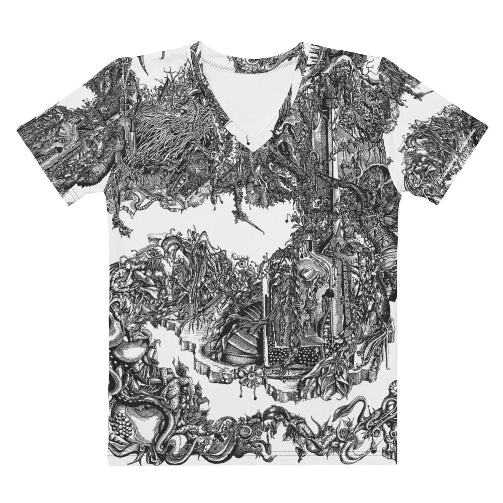 """Apocalypse"" V-neck - Shop Woodruff Designs"