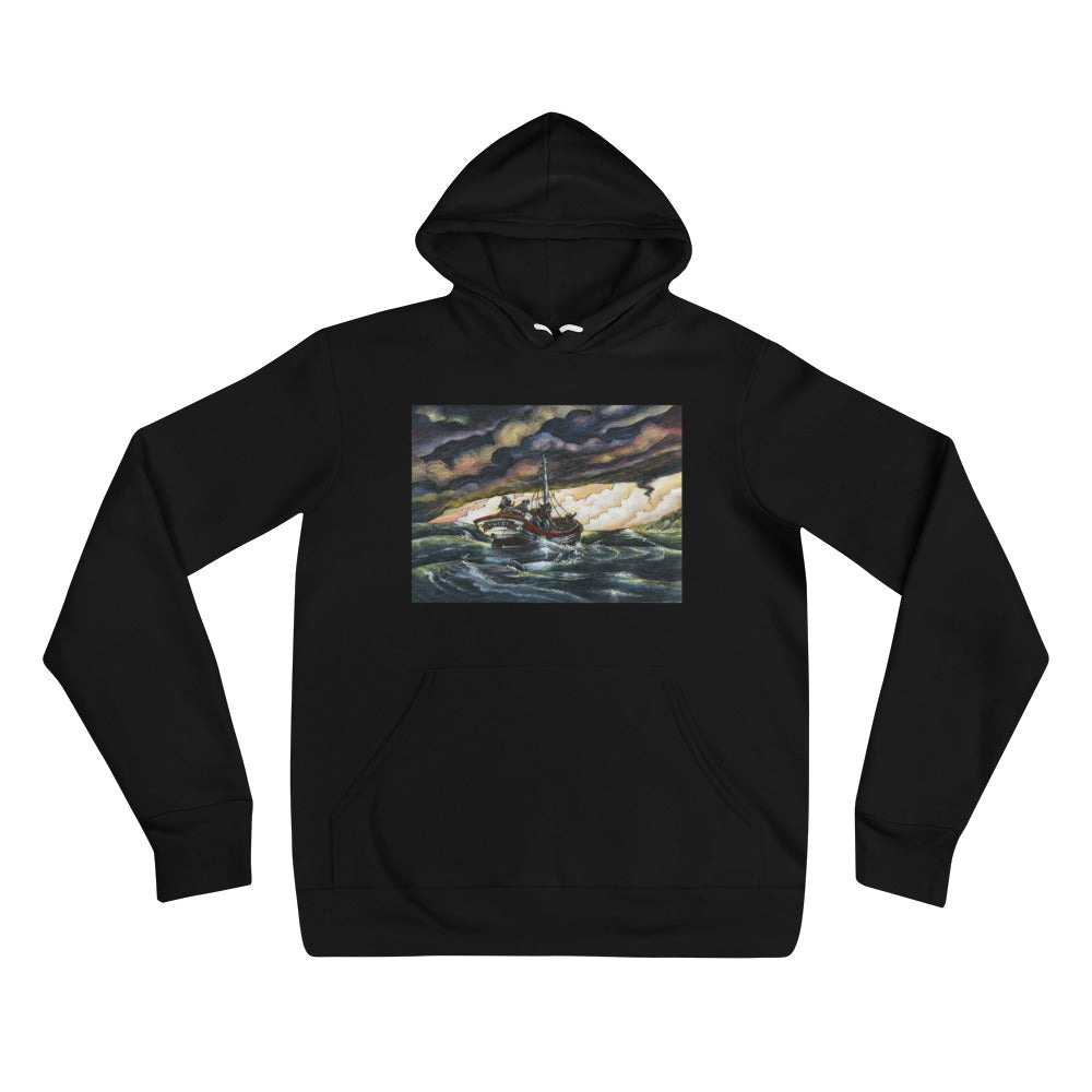 """Fisherman's Luck"" Hoodie - Shop Woodruff Designs"