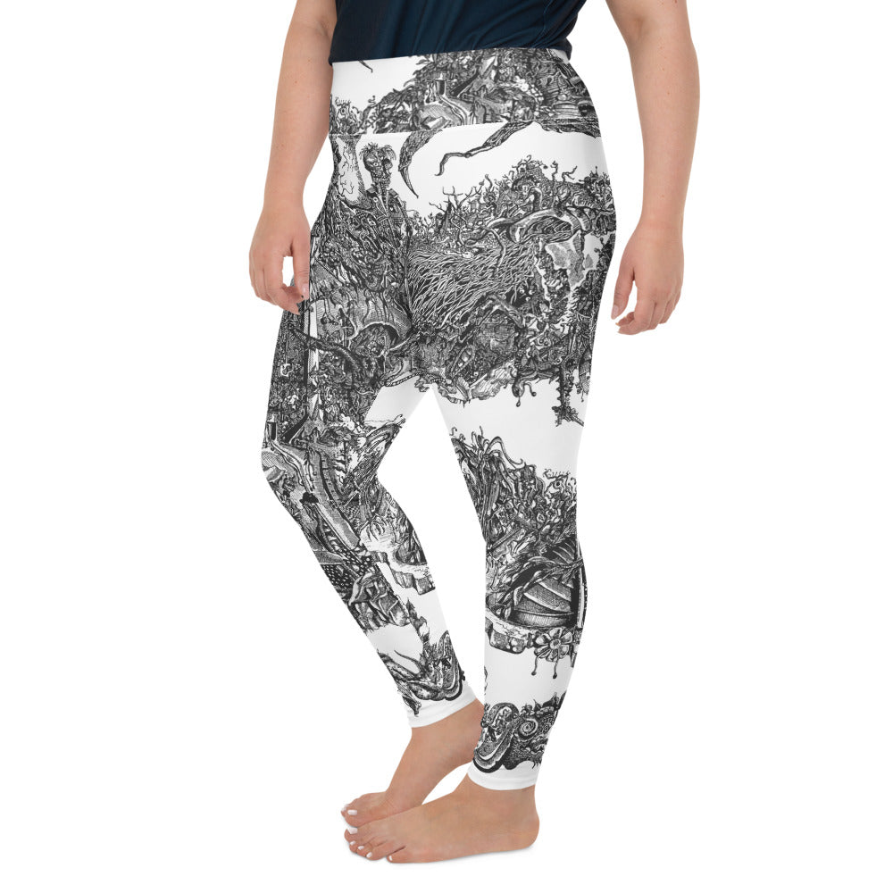 """Apocalypse"" Plus Size Leggings - Shop Woodruff Designs"