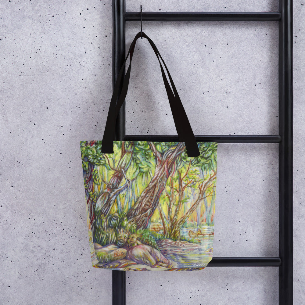 """A Walk in the Woods"" Tote Bag - Shop Woodruff Designs"