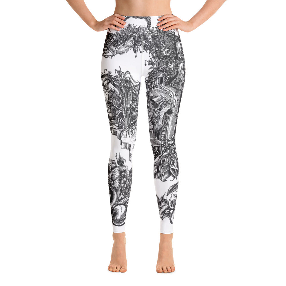"""Apocalypse"" Yoga Leggings - Shop Woodruff Designs"