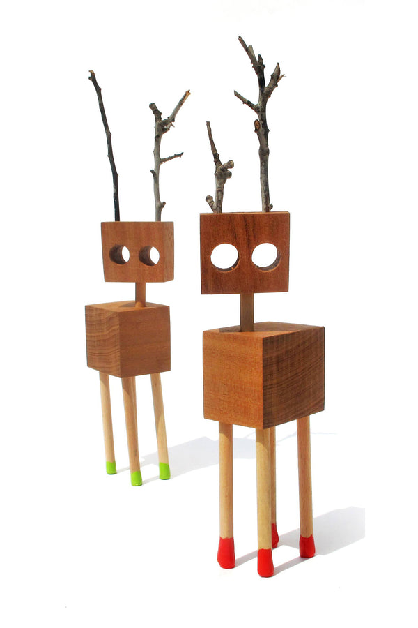 Wooden creatures \ David Budzik - Medium
