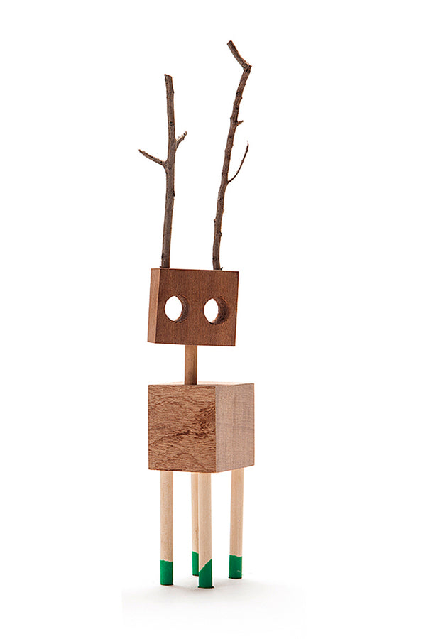 Wooden creatures \ David Budzik - Small