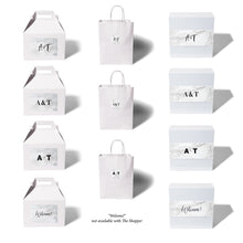 giftwell white marble brand sticker all package all monogram options