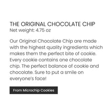 Microchip Cookies, The Original Chocolate Chip