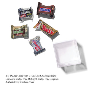 Fun-Size Chocolates, Candy Cube